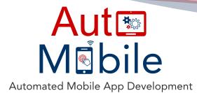 AutoMobile project – Automated Mobile App development