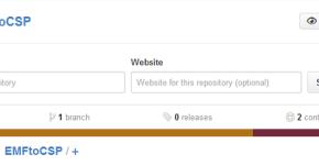 EMFtoCSP in GitHub