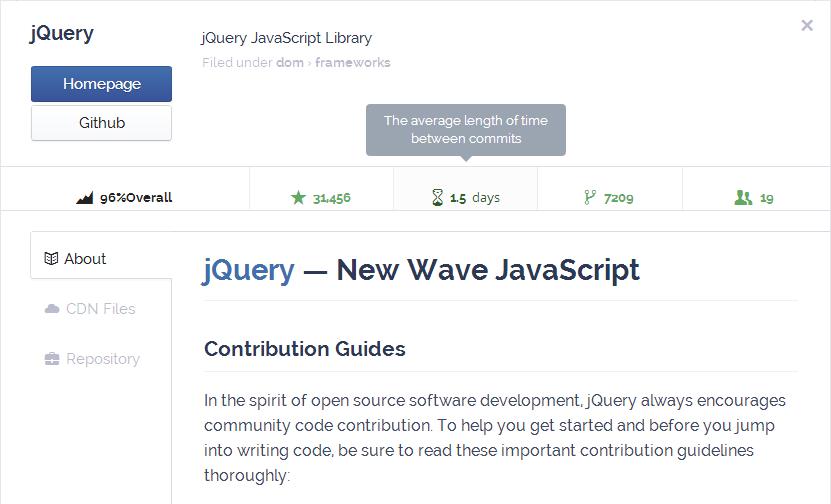 JQuery summary