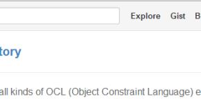 OCL repository