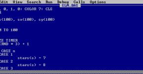 Code-generator for BASIC