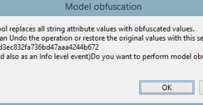 model obfuscator