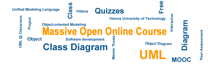 Massive Open Online Course about the UML Class Diagram