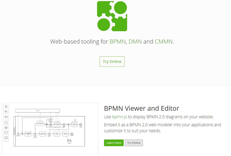 bpmn.io - process model online editor