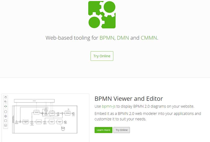 bpmn.io - modelado de procesos basado en web