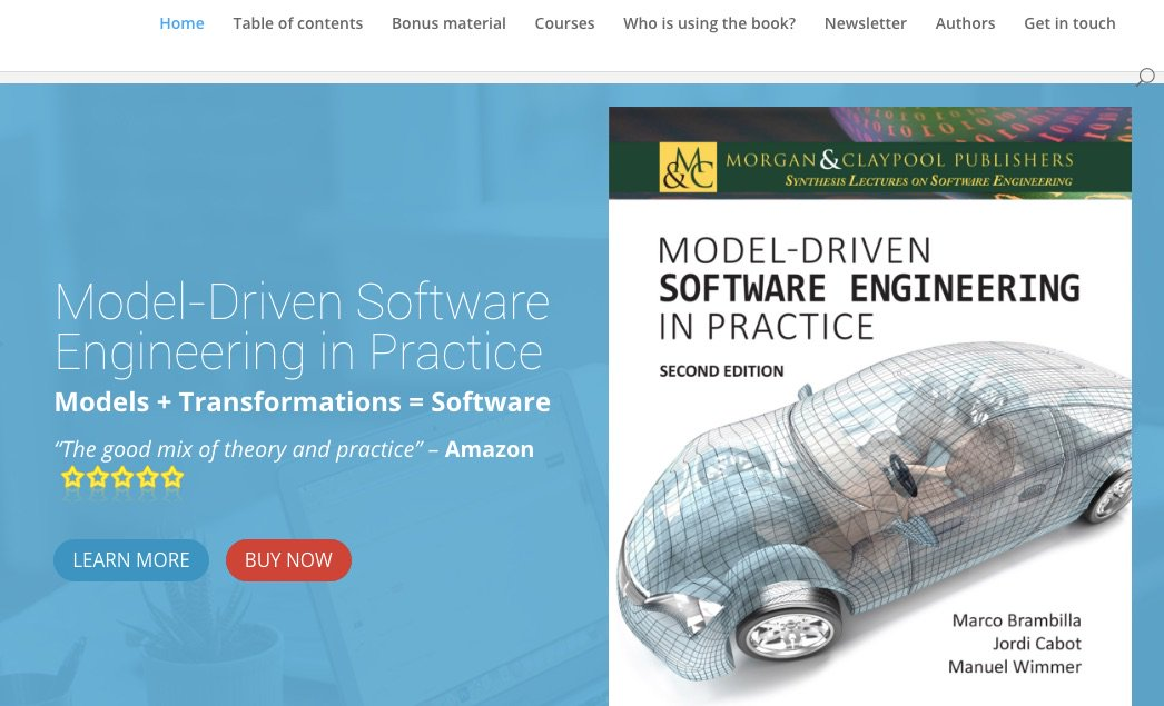 The model-driven book – 2nd edition